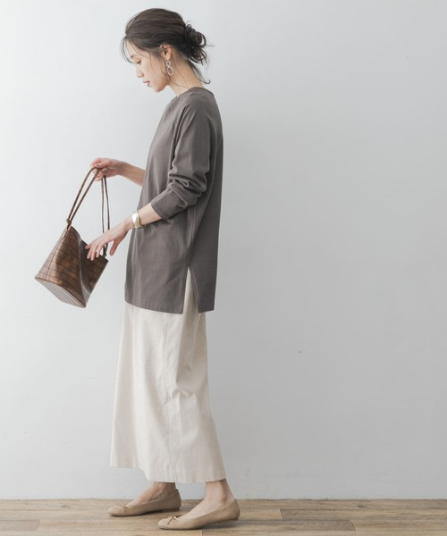 [URBAN RESEARCH ROSSO WOMEN] F by ROSSO コットンコールスカート