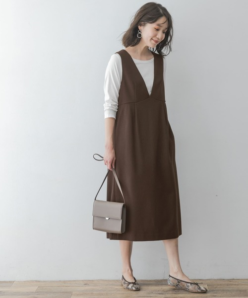 [URBAN RESEARCH ROSSO WOMEN] F by ROSSO ポンチジャンパースカート