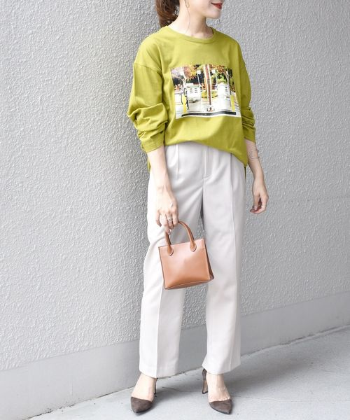 [SHIPS for women] 【別注】ANNA MAGAGIZE×FRUIT OF THE LOOM:フォトロンTEE◆