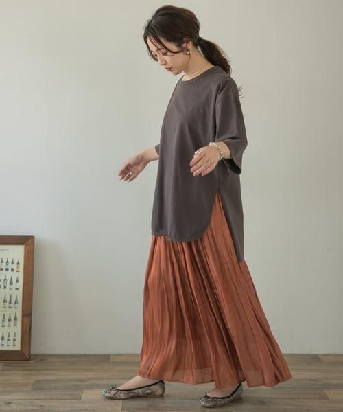 [ITEMS URBAN RESEARCH] ロングプリーツスカート