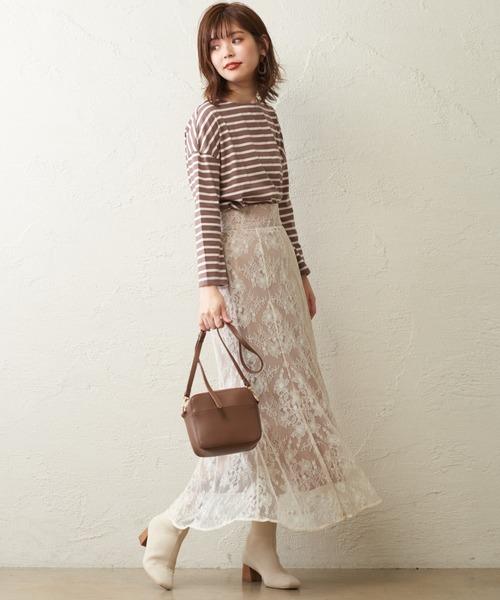 [natural couture] osono レーススカート