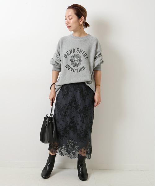 [Spick & Span] ≪WEB・ルミネ限定予約≫ラッセルレーススカート7◆