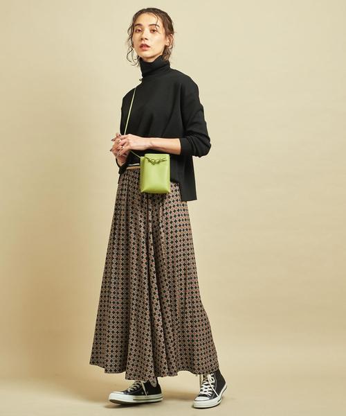 大阪|12月服装|ハイネックコーデ