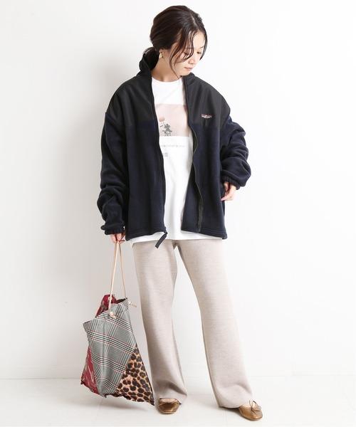 大阪|12月服装|フリースジャケットコーデ