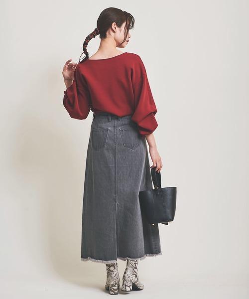 秋のレディースファッション【スカート】