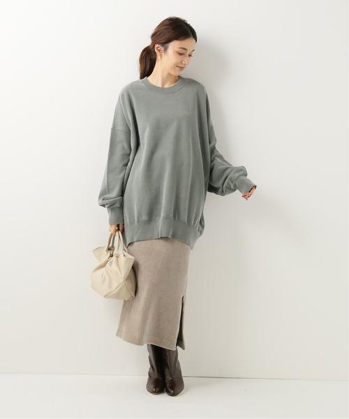 [IENA] 【R JUBILEE/アール ジュビリー】BASIC スウェットシャツ