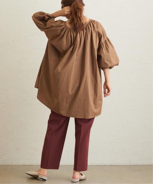 [natural couture] 【WEB限定】美シルエットテーパードパンツ XSサイズ