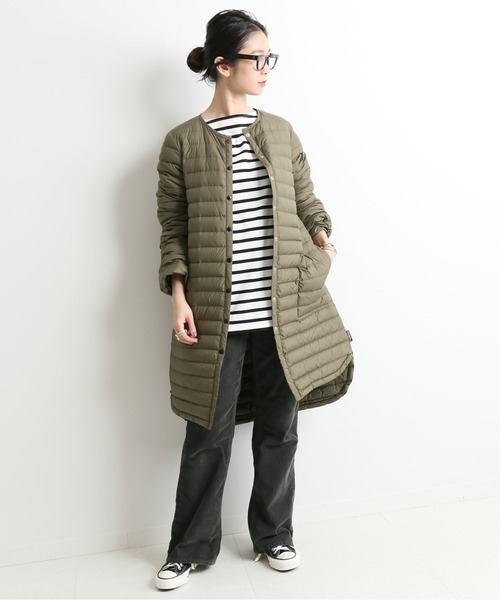 [IENA] 【TRADITIONAL WEATHERWEAR 】 ARKLEY DOWN ロングコート◆