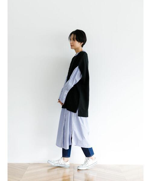 [koe] 【2020AW】【S・Mサイズ対応】ケーブルニットベスト〇