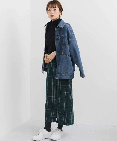 [URBAN RESEARCH] 【WEB限定】チェックリバーシブルスカート