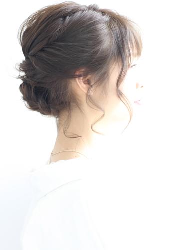 留袖に似合う50代女性の髪型《ミディアム》