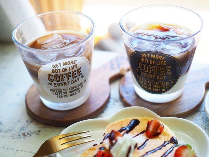 ・セリア「グラス COFFEE」