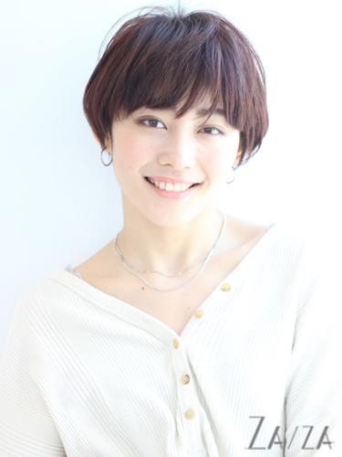 面長に似合うハンサムショート【前髪あり】2