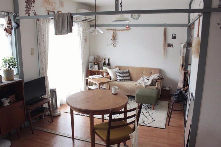 和のテイストに、北欧家具を組み合わせて332