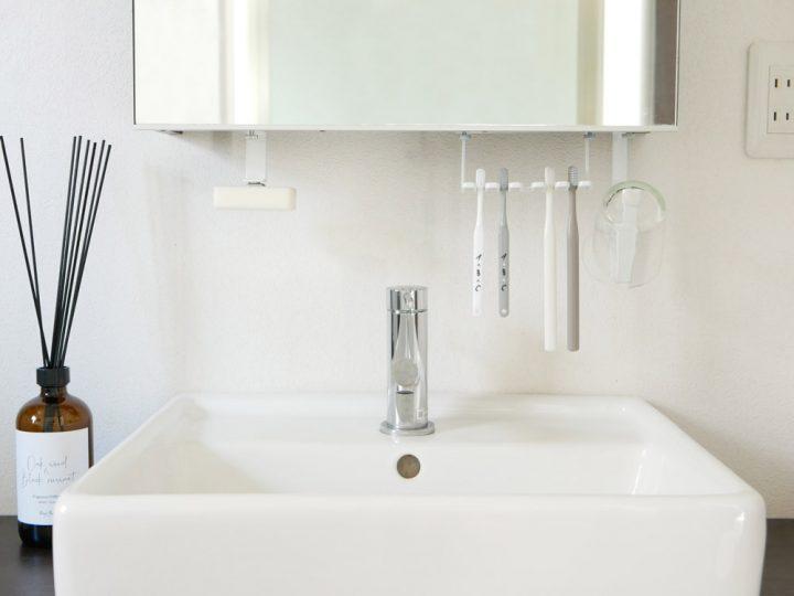 洗面戸棚下タンブラーホルダー 7