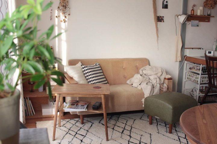 和のテイストに、北欧家具を組み合わせて33fd