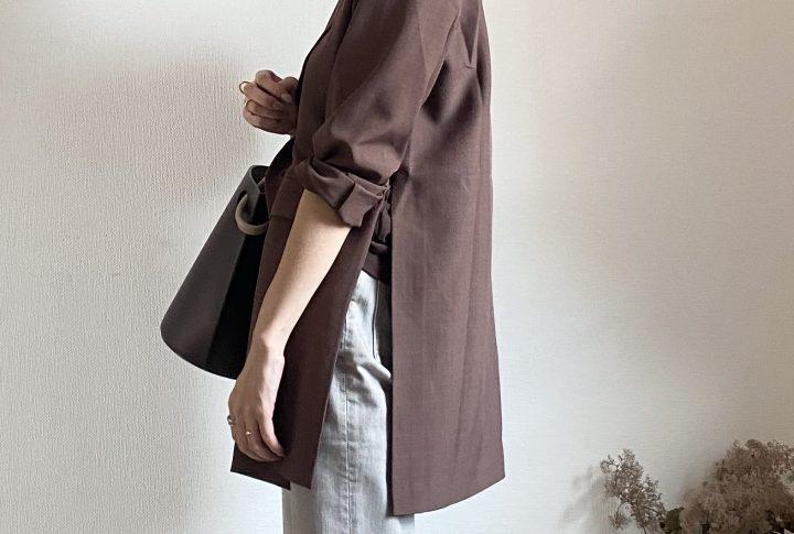 秋の定番!テーラードジャケット(titivate)2