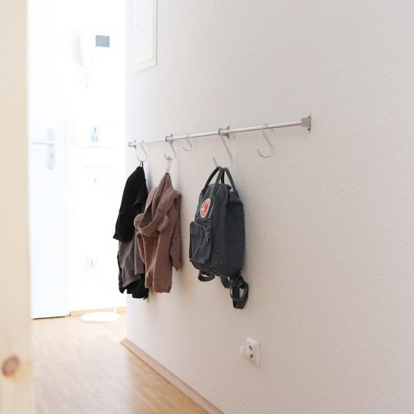 IKEAのキッチンバーで叶うコート収納アイデア