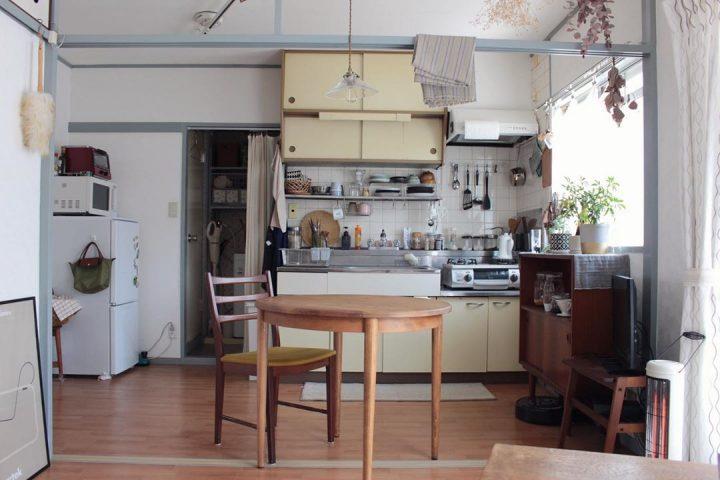 和のテイストに、北欧家具を組み合わせてfsq