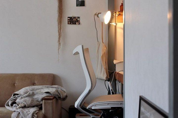 和のテイストに、北欧家具を組み合わせてfffv