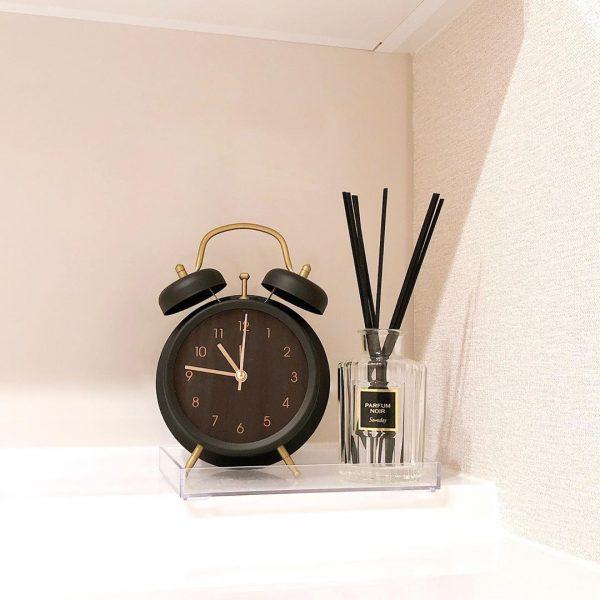 高級感漂わせるレトロモダンな置時計