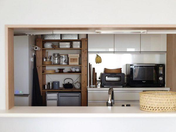 すっきり整ったキッチンインテリア