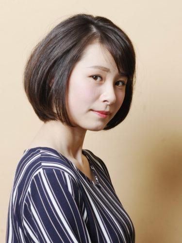 留袖に似合う50代女性の髪型《ボブ》