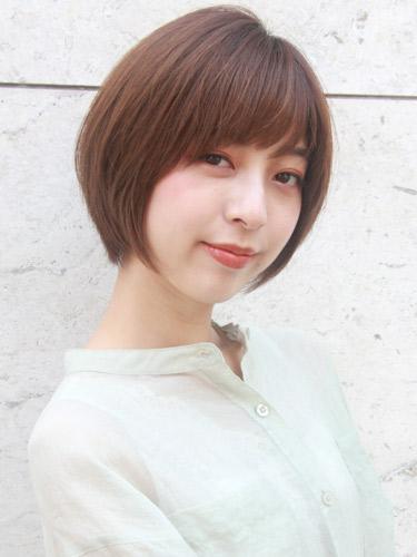 毛量が少ない女性に似合う髪型【ショート】3