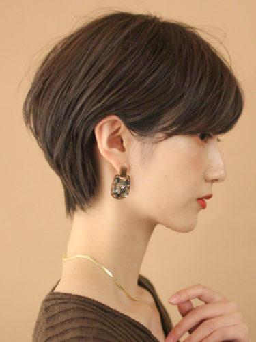 留袖に似合う50代女性の髪型《ショート》