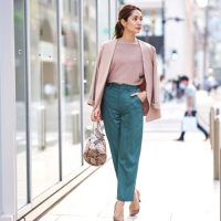 パンツで好印象を与えるお仕事コーデ♡清潔感漂うきれいめスタイル