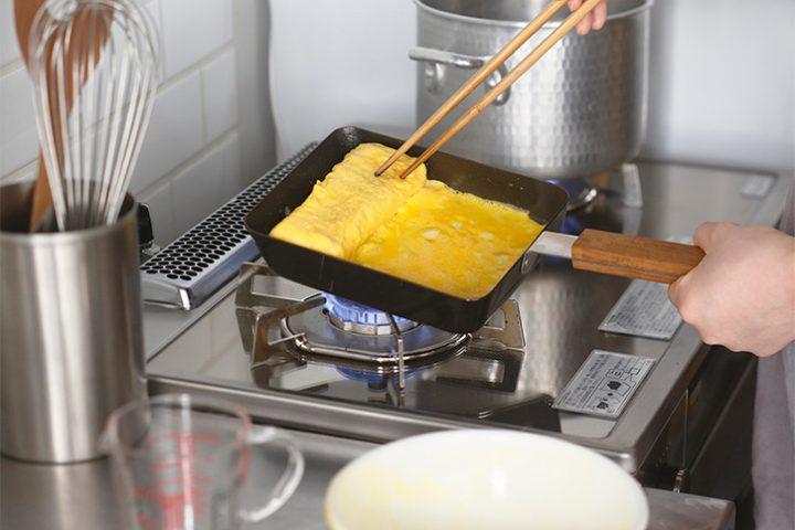 玉子焼き用フライパン