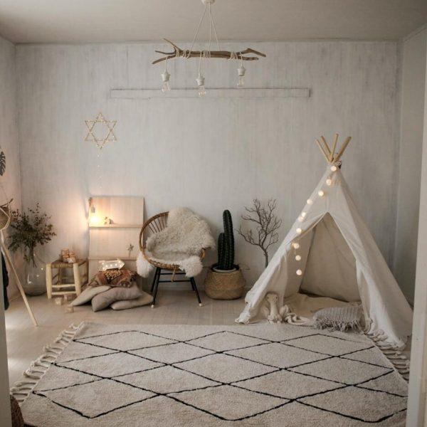 ティピーテントのある子供部屋インテリア5