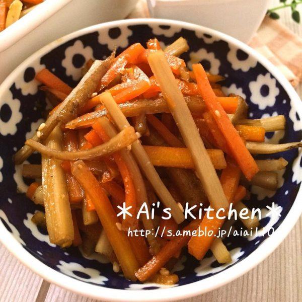 定番のごぼうの炒め物レシピ!きんぴら