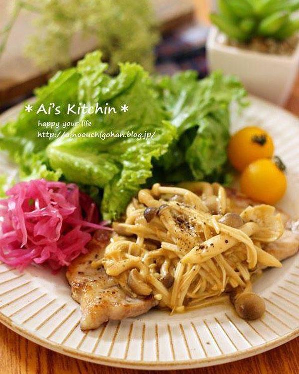 人気主菜のがっつり秋レシピ!豚肉ソテー