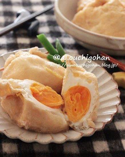 ほぼ卵だけの煮物レシピ!袋煮