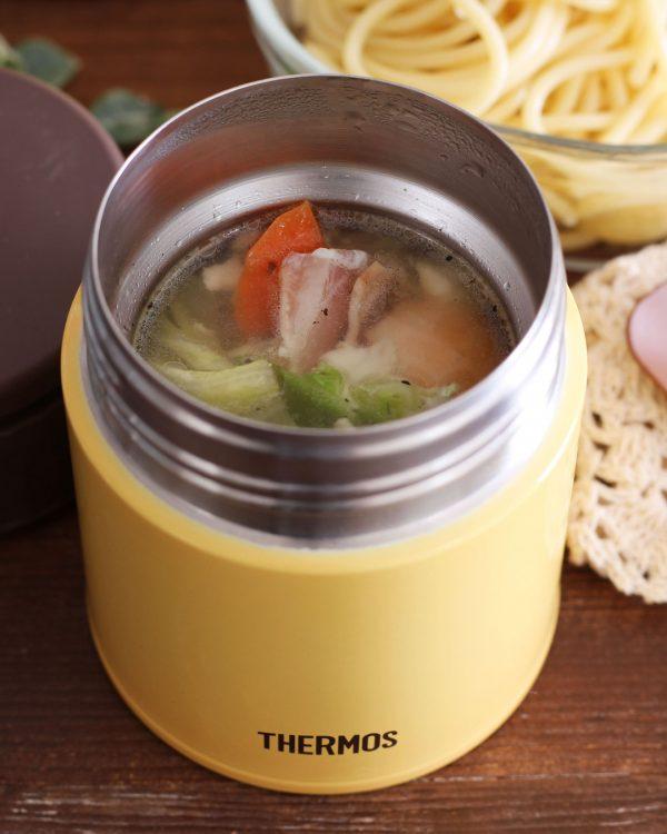 時短レシピ!コンソメスープパスタ弁当