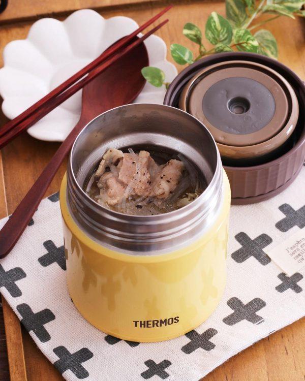 時短レシピ!春雨スープ弁当