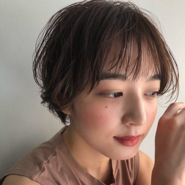 短め前髪×ショート【パーマ】2