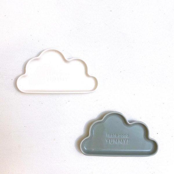 トレンドライクなカラーとデザインの雲形豆皿