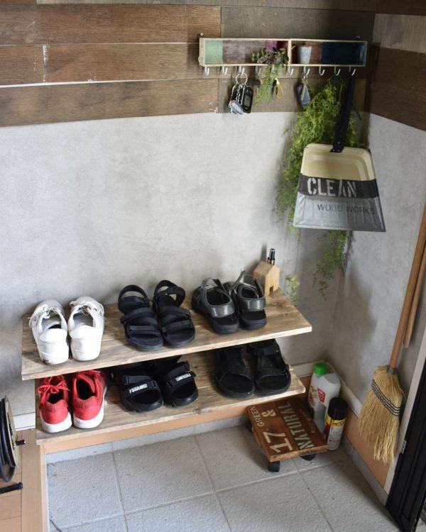 靴箱をDIY
