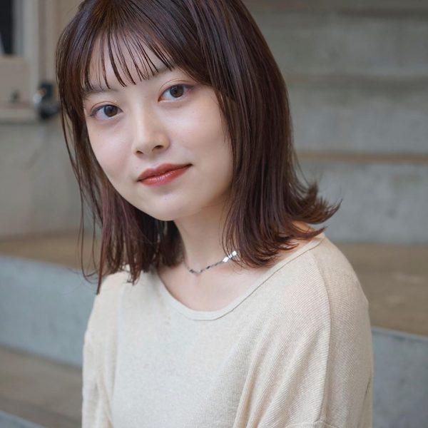 秋のトレンドおすすめ髪型【ミディアム】3