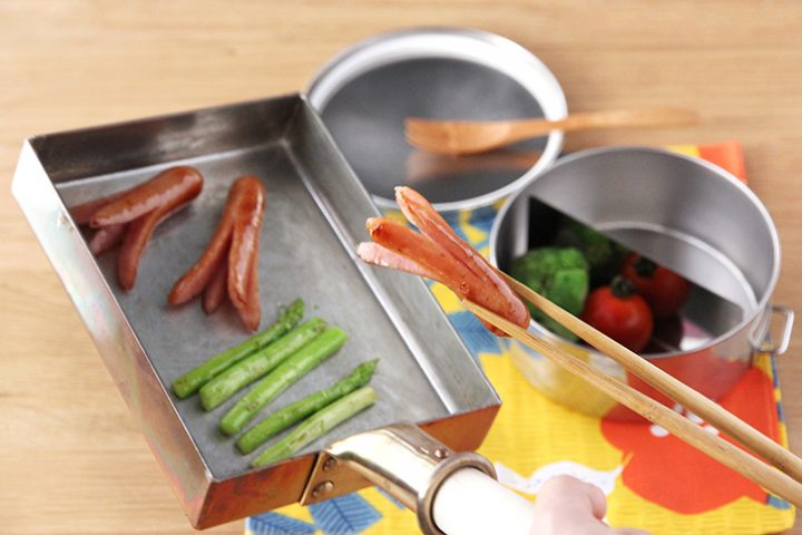 玉子焼き用フライパン2