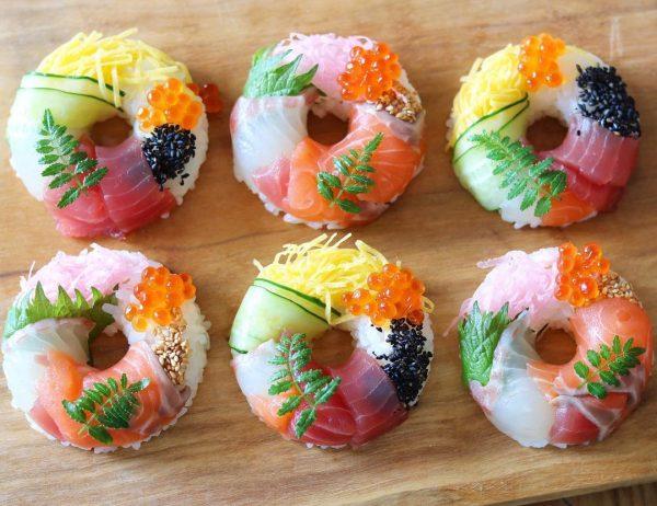お正月の簡単おもてなし料理特集!お寿司5