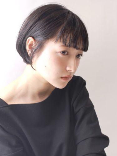 短め前髪×ショート【黒髪・暗髪】3