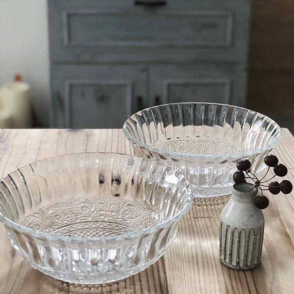 アンティークな風情が素敵なガラス食器