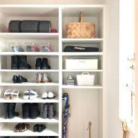 《玄関クローゼット》の収納アイデアを紹介!物が多くてもすっきり暮らそう♪