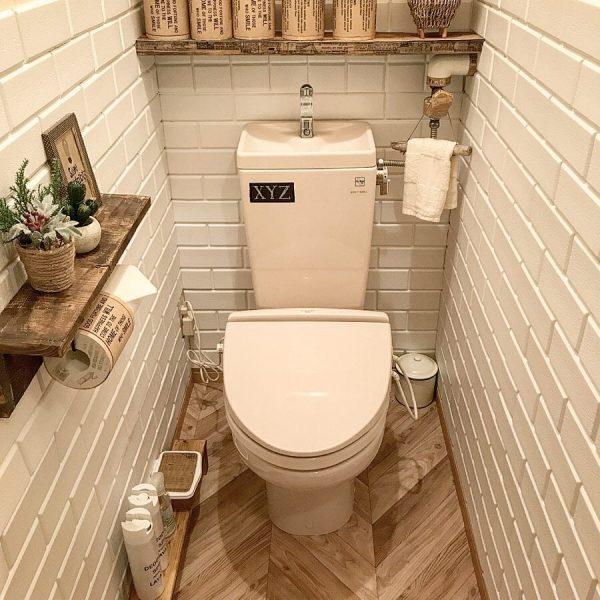 閉塞感のないおしゃれトイレ