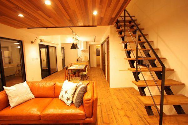 階段がお洒落な住まいのインテリア8