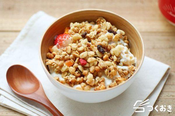 風邪予防に良い食べ物のレシピ☆ヨーグルト2
