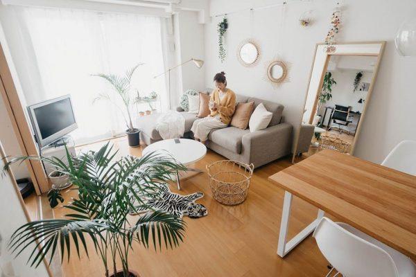 8畳のリビングダイニングのレイアウト【空間】8